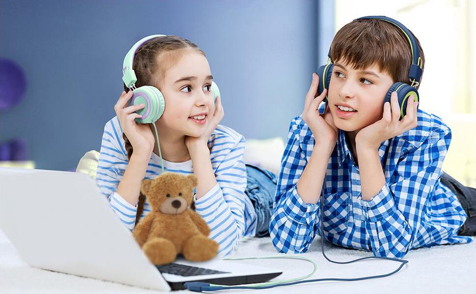 Duo pack dětských sluchátek MPOW