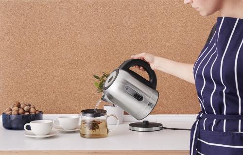 Rýchlovarná kanvica G21 Neo s termoreguláciou zaistí vypnutie v tú pravú chvíľu a váš čaj bude jedinečný