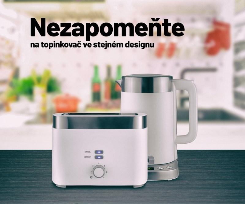 Snídaňový set - topinkovač a konvice Lauben