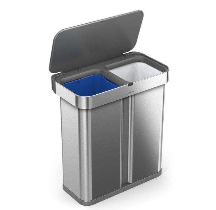 Bezdotykový koš ST2036 Simplehuman na tříděný odpad