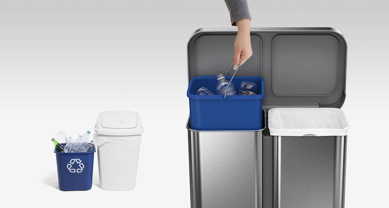 Koš na recyklaci odpadu