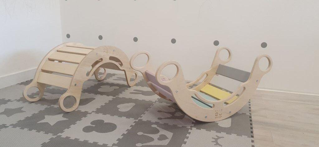 Montessori houpačka 5v1