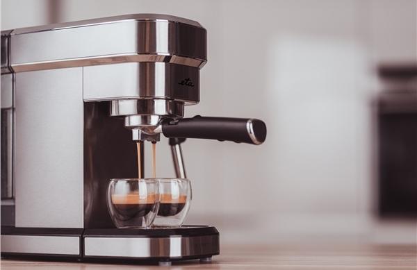 Slim nerezový pákový kávovar ETA Stretto
