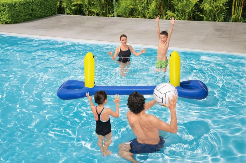 Volejbalový nafukovací set do vody