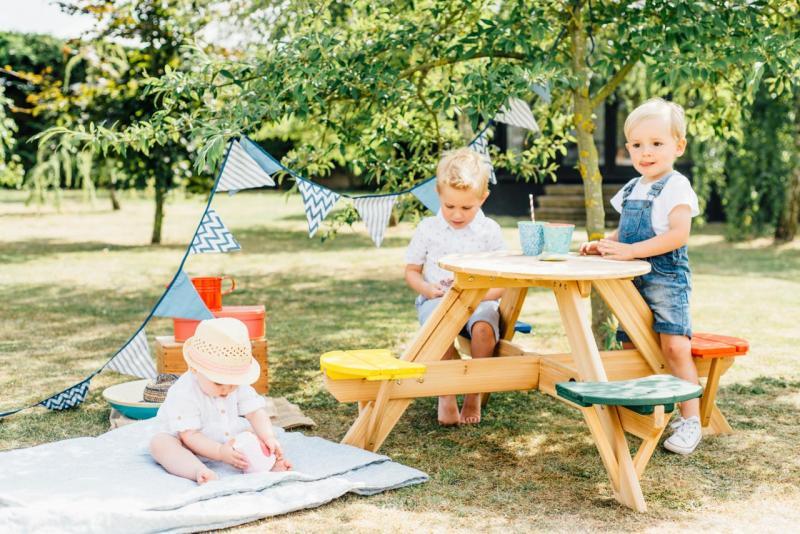Piknikový stůl dřevěný
