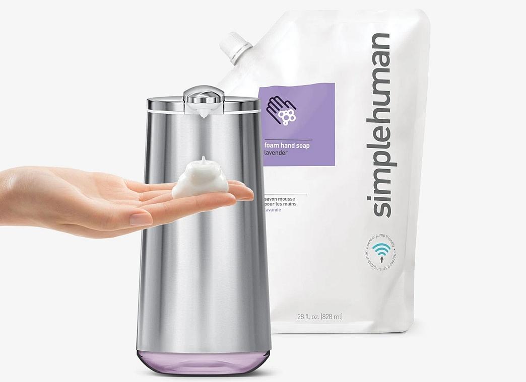 Hydratační pěnové mýdlo