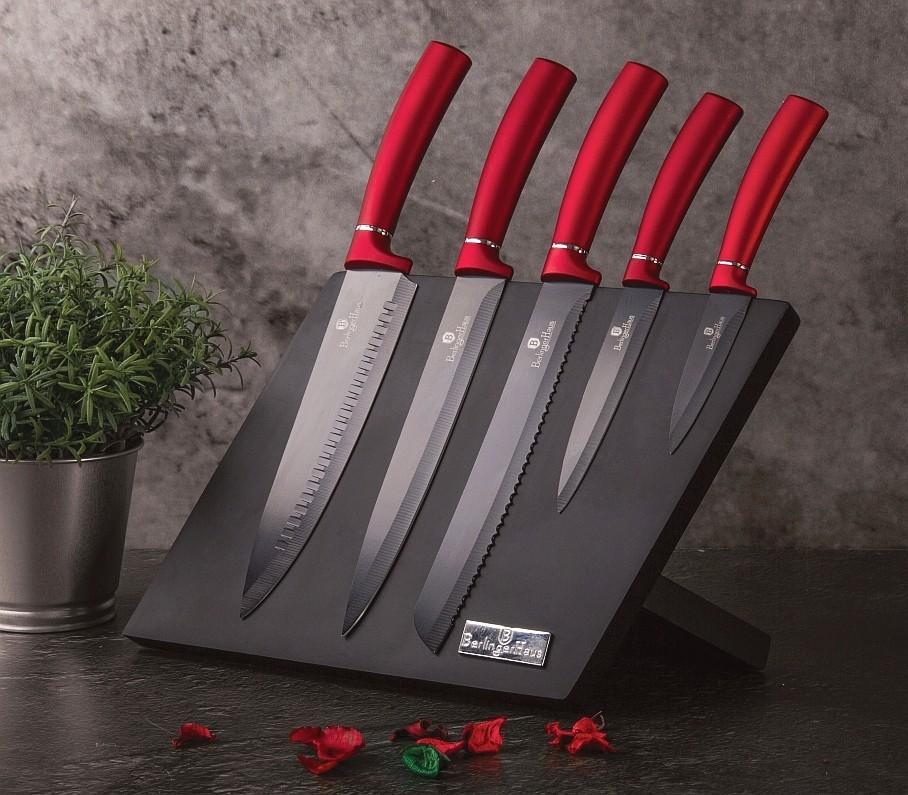 Sada nožů a magnetického stojanu Berlingerhaus