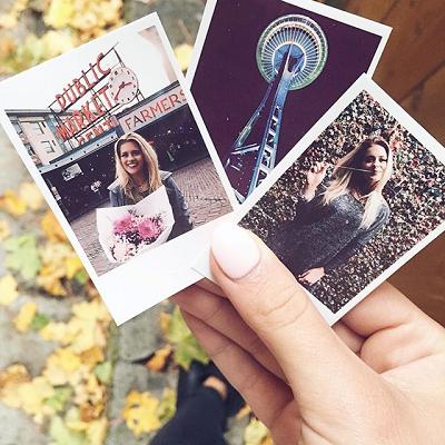 Polaroid rámeček