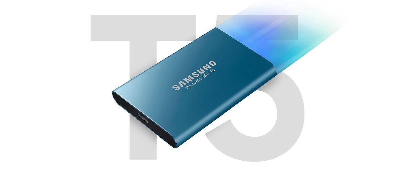 vyššia rýchlosť SSD T5
