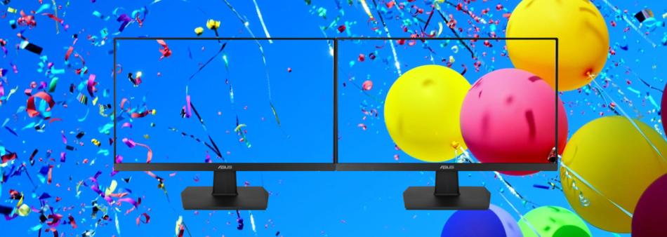 Bezrámečkový design pro sestavy více obrazovek