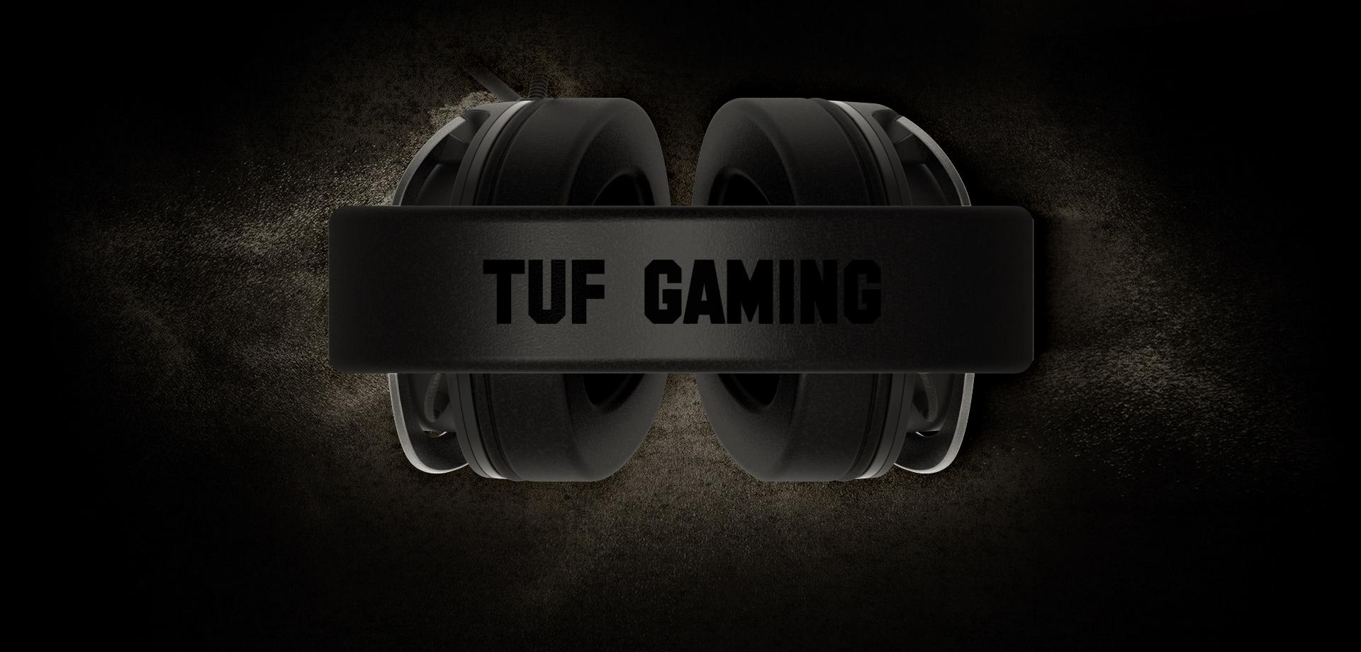 Čelenka sluchátek Asus TUF Gaming H3 má měkké polstrování a je vyrobená z nerezové oceli