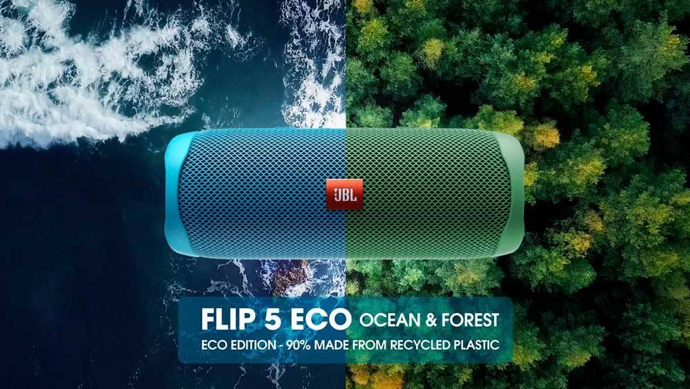 Eco friendly design z 90 % vyrobený z recyklovaného plastu