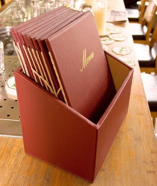 Box Securit CLASSIC RANGE s 20 jídelními lístky A4