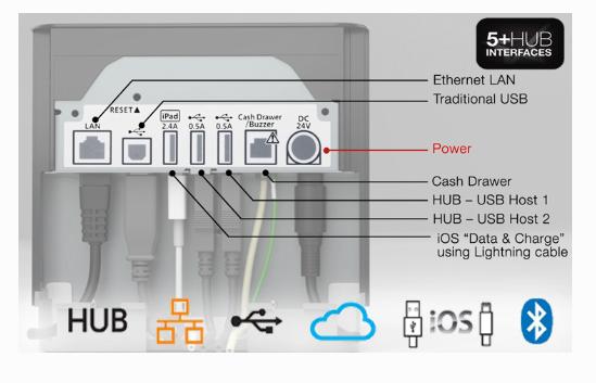 Tiskárna Star Micronics MCP31 USB/LAN, řezačka, černá