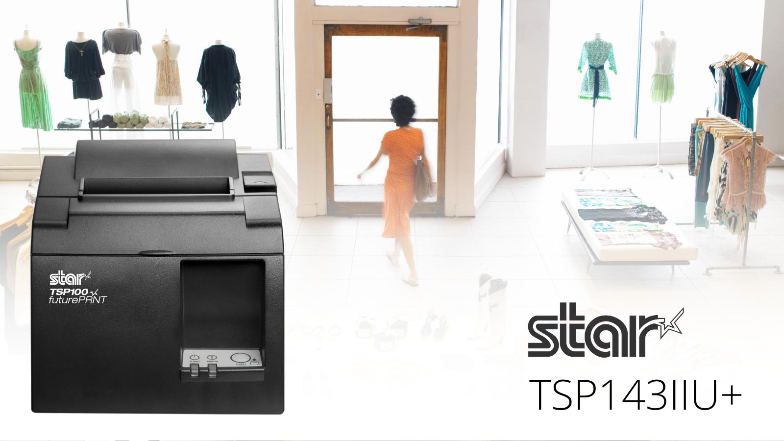 Termální tiskárna Star Micronics TSP143IIU+ představuje ideální řešení pro použití v dopravě, logistice, maloobchodě, zdravotnictví, finančnictví či v dalších odvětvích