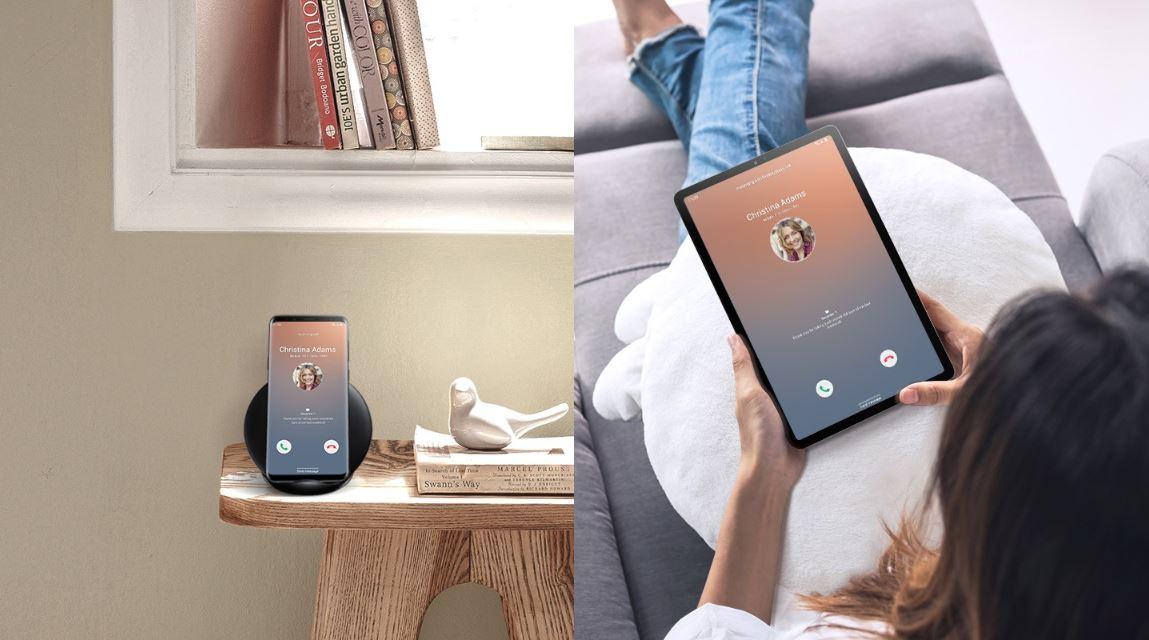 synchronizace tabletu se smartphonem Galaxy