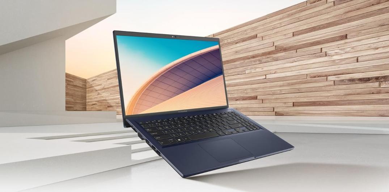 """Notebook ASUS ExpertBook B1 B1500 sa pýši veľkým 15,6 """"IPS displejom s podporou FHD rozlíšenia, 90 % pomerom obrazovky k telu, antireflexnou úpravou, jasom 250 nitov a s s 45 % farebnou škálou NTSC"""