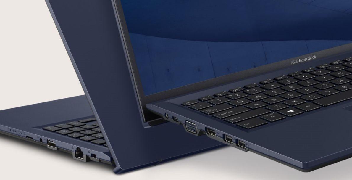Asus ExpertBook B1 B1500 sa pýši ultra-rýchlym portom Thunderbolt 4