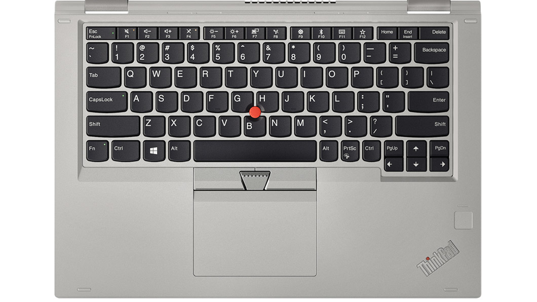pohľad na klávesnicu yoga 370