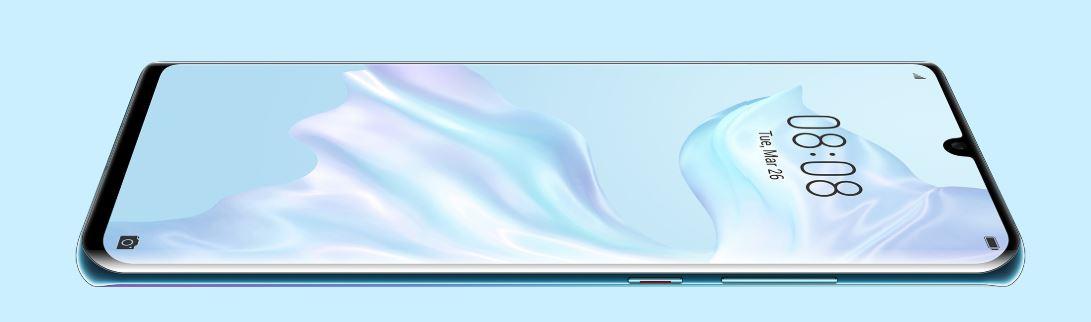 Huawei P30 Pro - elegantní displej