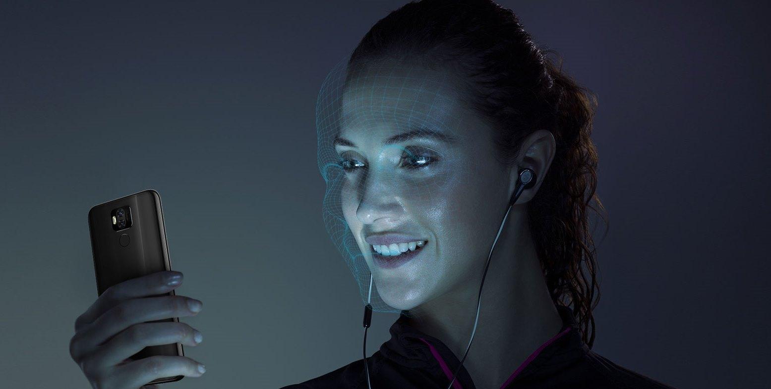 Ulefone power 6 podporuje funkciu rozpoznania tváre