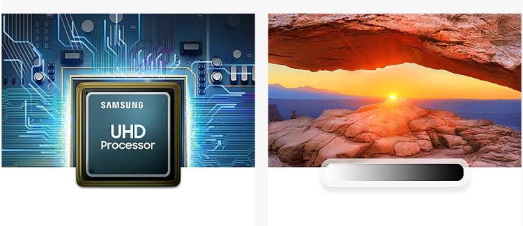 "Televize Samsung 43"" LED ULTRA UHD"