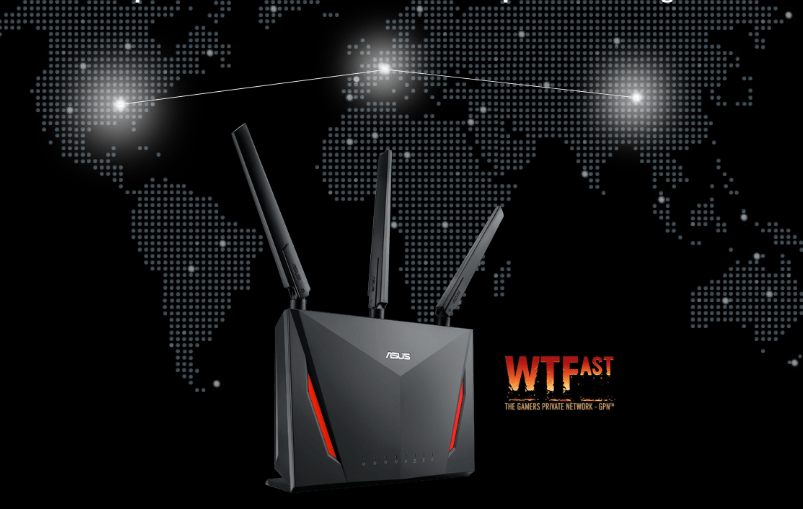 WiFi router Asus RT-AC86U AC2900 Dual-band