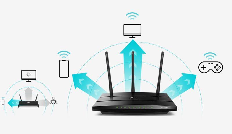 Tri simultánné datové toky umožňujíce všetkým pripojeným zariadeniam dosiahnut rychlost až 3 × rychlejšiu než so štandardnými AC routermi.