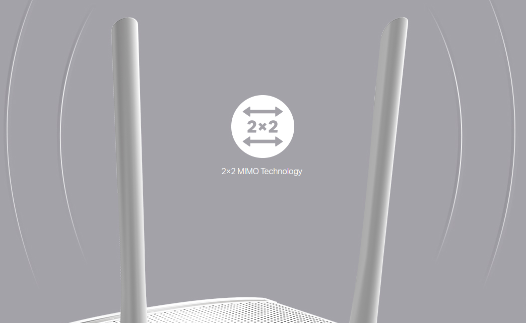WiFi router TP-Link TL-WR820N AP/router, 2x LAN, 1x WAN, 2,4GHz, 300Mbps