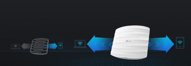 WiFi router TP-Link EAP225