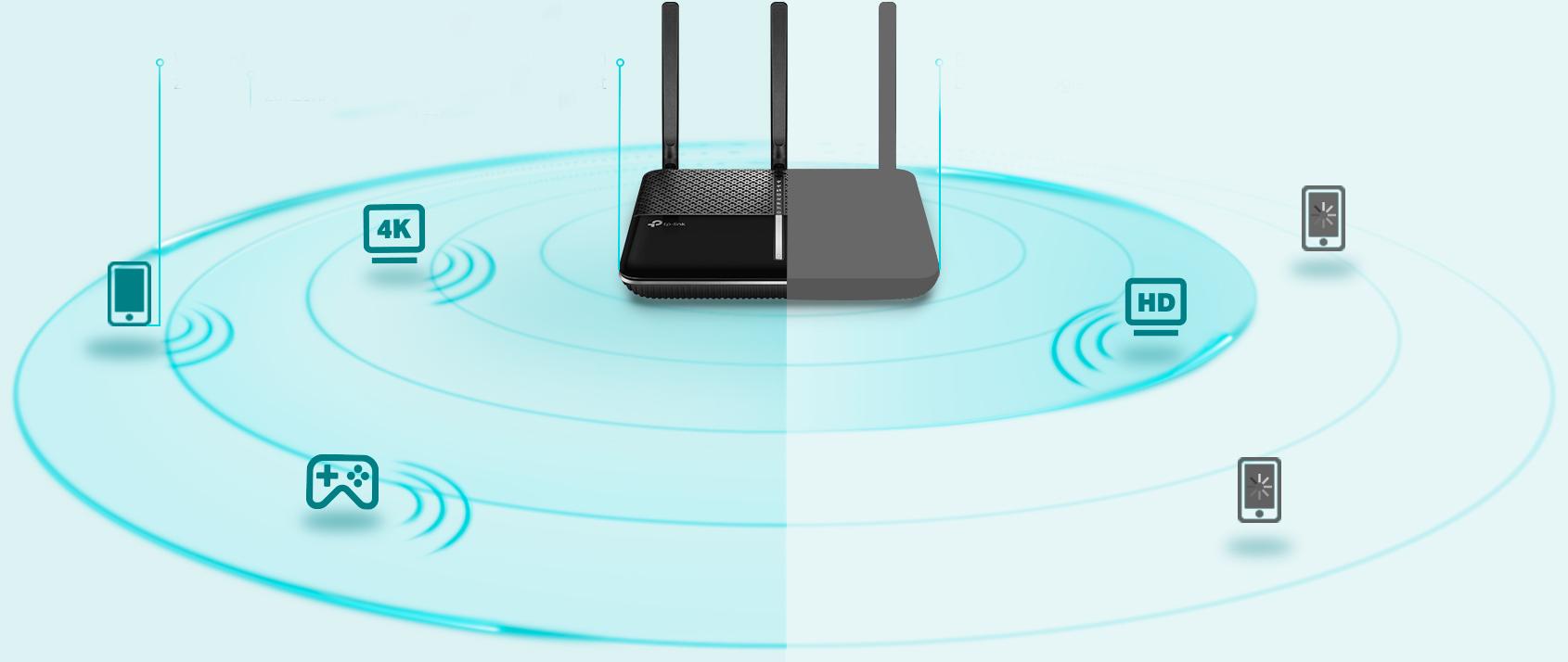 WiFi router TP-Link Archer C2300 AC2300 dual AP