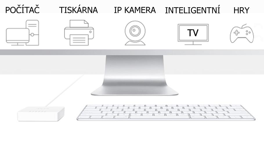 Switch TP-Link Mercusys MS105 5x LAN