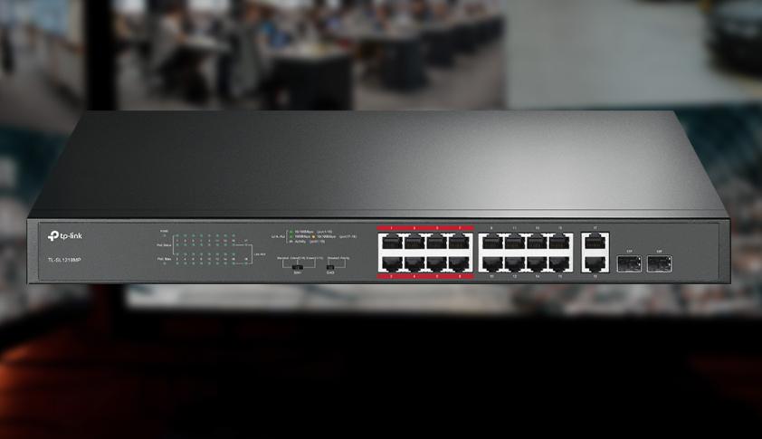 Switch TP-Link TL-SL1218MP