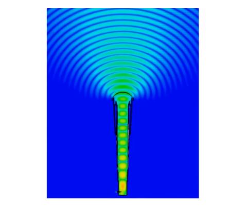 Anténa RF Elements Asymetrická Horn s TwistPortem 5GHz, 16dBi, 90°