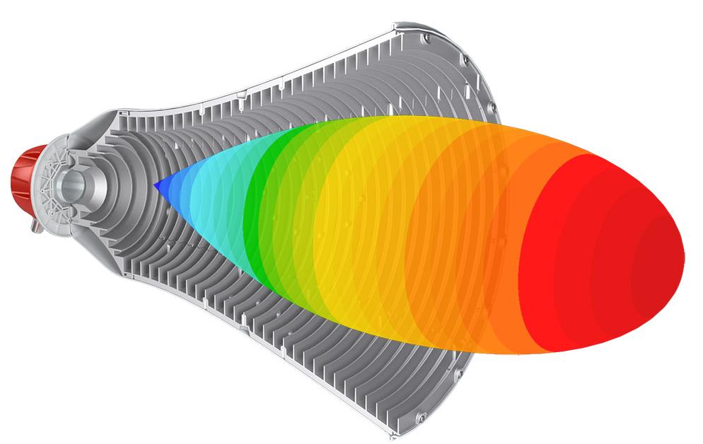 Anténa RF Elements UltraHorn CC 5-24 směrová, 5GHz, 24dBi