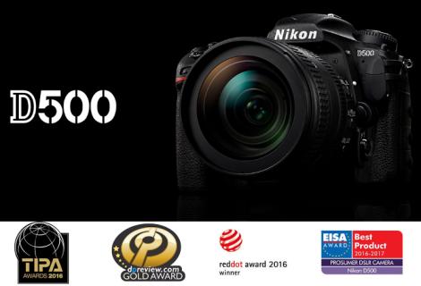 Digitálny fotoaparát Nikon D500