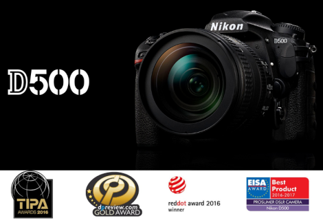 Digitální fotoaparát Nikon D500