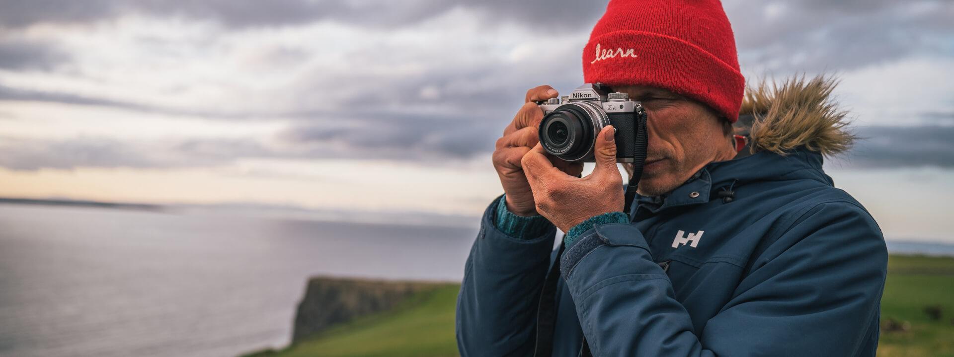 Známý fotograf George Karbus si velice oblíbil bezzrcadlovku Nikon Z fc!