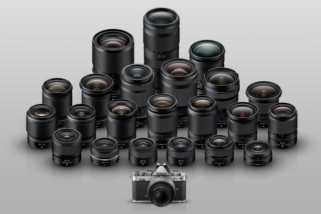 Nikon Z fc je plně kompatibilní s objektivy NIKKOR Z i s objektivy s bajonetem F!