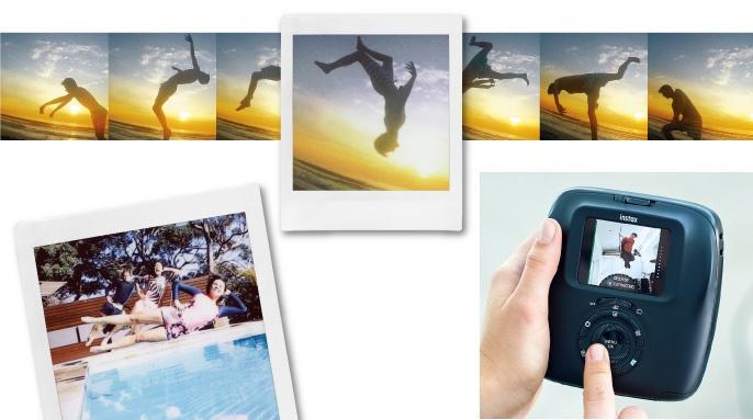 vyberte správné momenty z 15sekundového záznamu posuvným kolečkem na zadní straně fotoaparátu