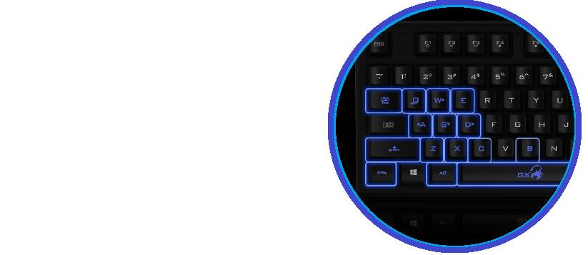 Klávesnice Connect IT EVOGEAR pro hráče (CZ+SK verze)