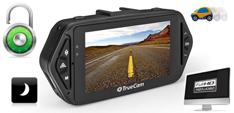 Kamera TrueCam A5s do auta