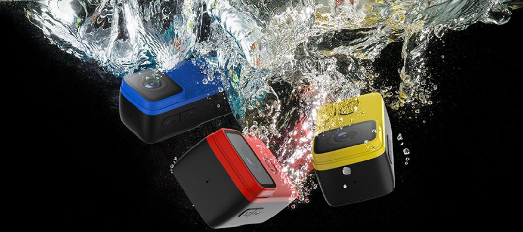 Akční kamera SJCAM C200 s certifikací IP68 je voděodolná až do hloubky 40 m