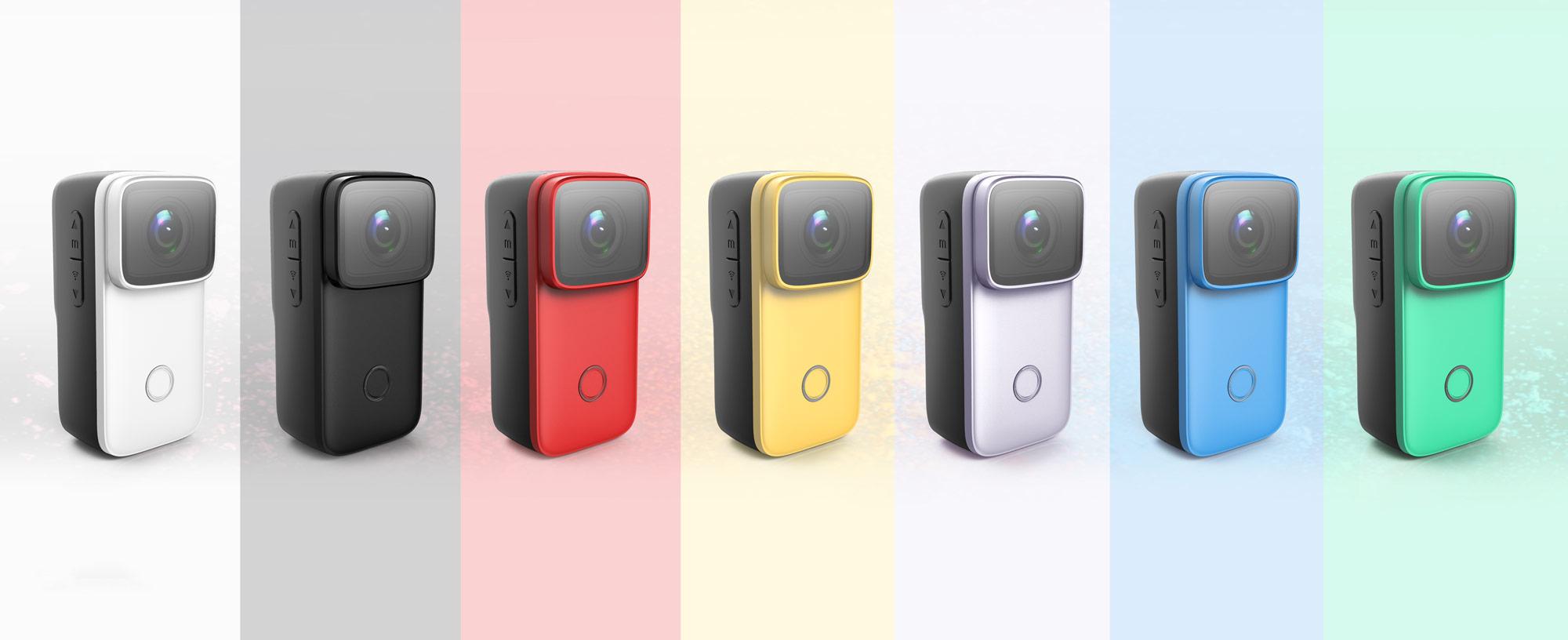 Barevné varianty akční kamery SJCAM C200