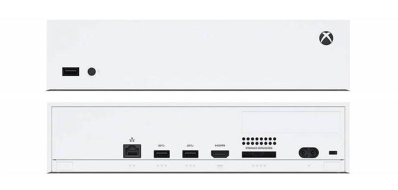 Xbox Series S má široké rozhraní!