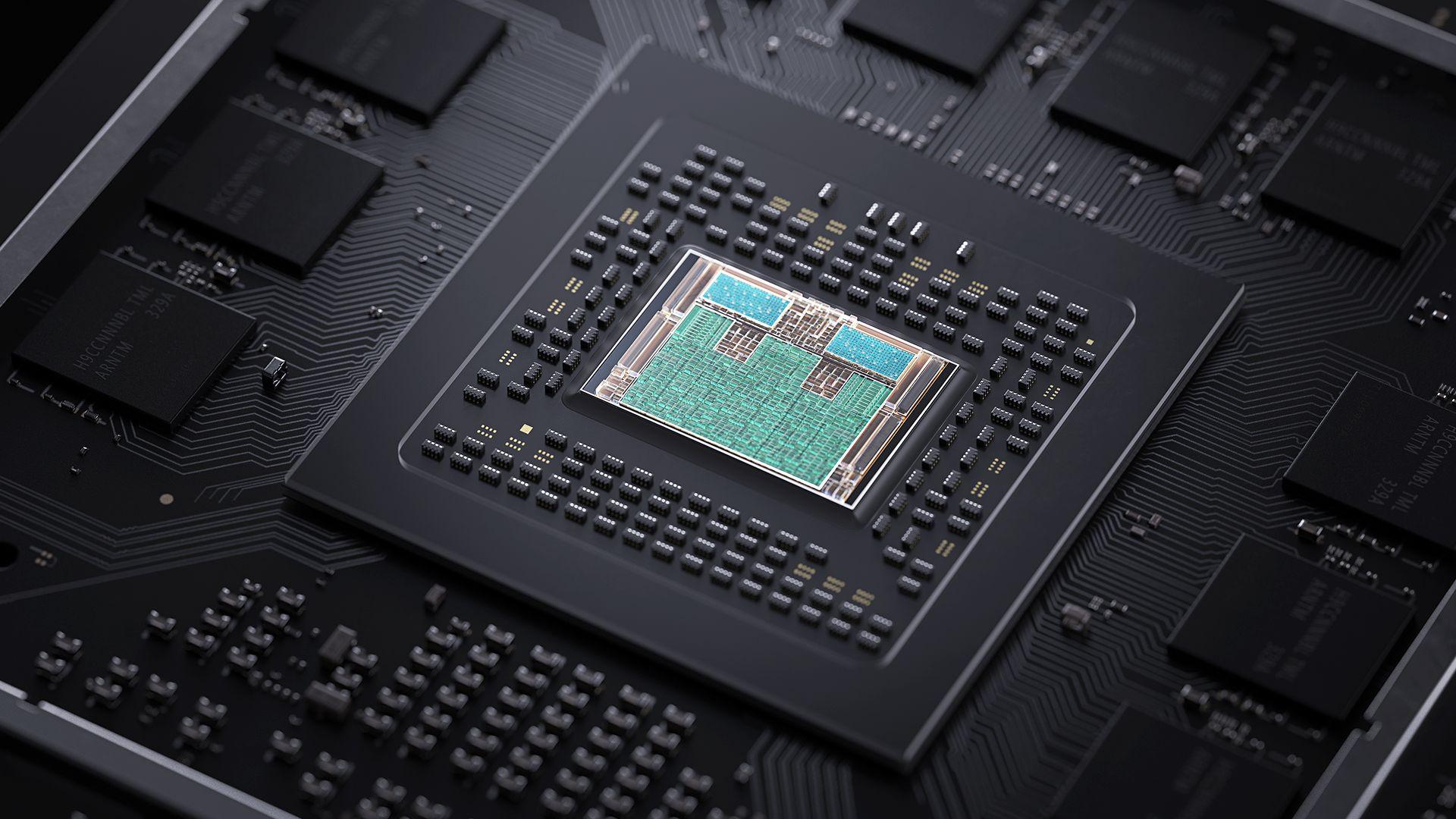 Xbox Series S využívá ke zvýšení výpočetní síly speciálně upravený 8jádrový procesor AMD Zen 2 s taktem až 3,6 GHz!
