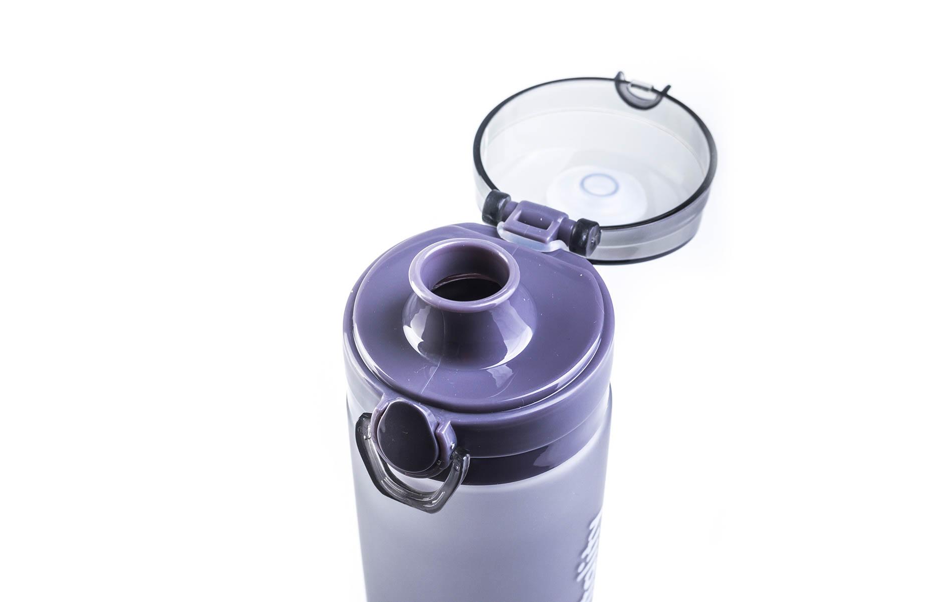 Šedá láhev G21 na smoothie/juice v mrazivém designu