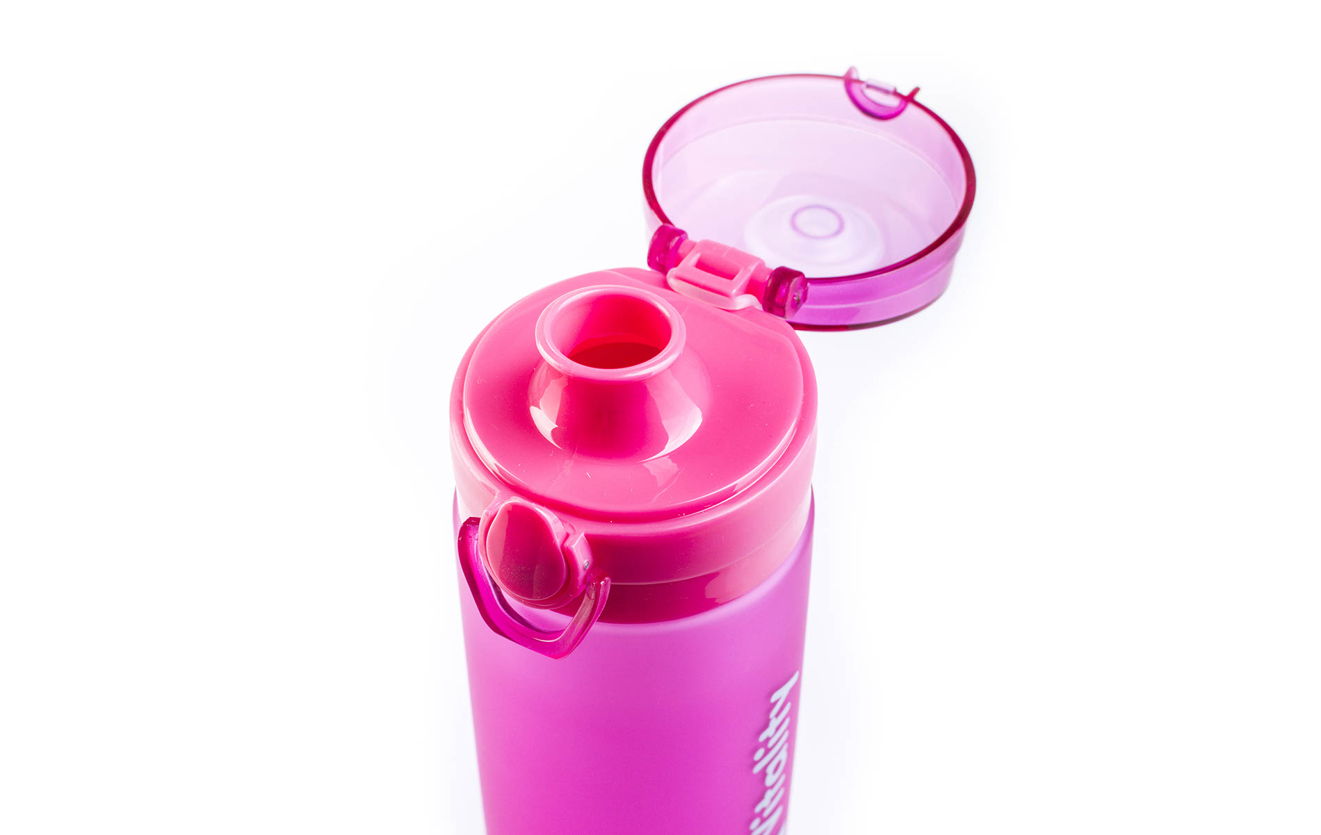 Růžová láhev G21 na smoothie/juice s pojistkou