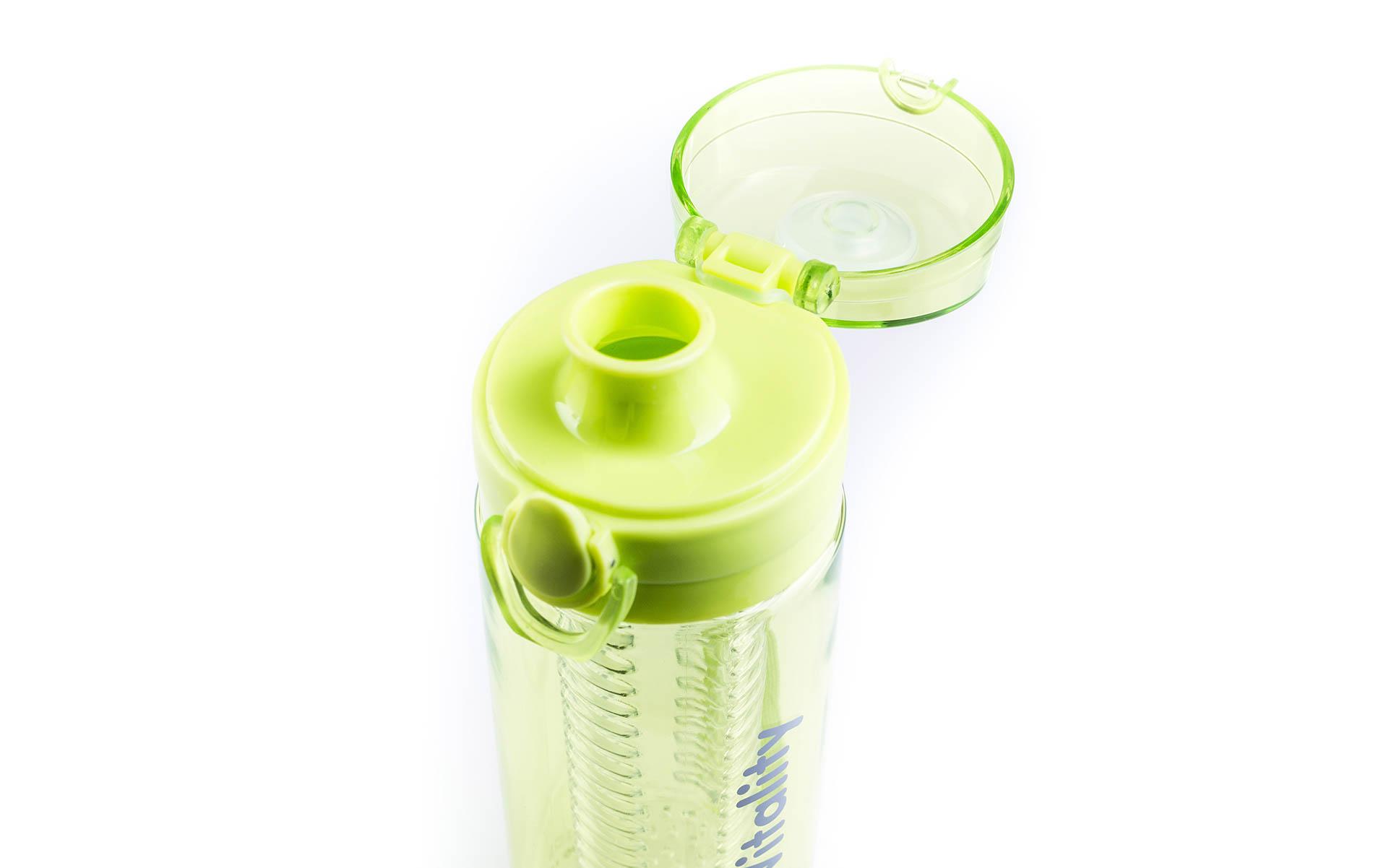Zelená láhev G21 na smoothie/juice s pojistkou