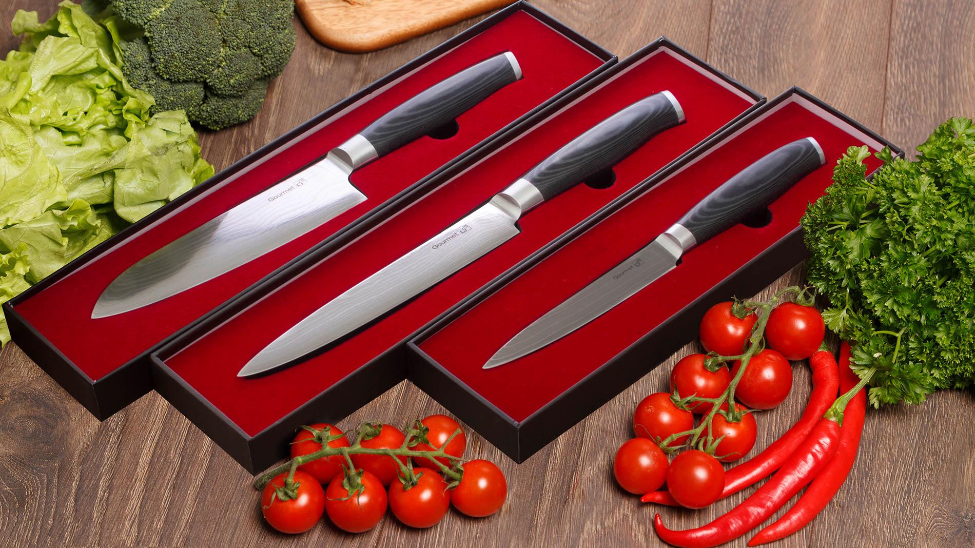 Řada nožů Gourmet Damascus od značky G21